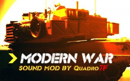 Modern War Sound Mod v.1.4.4