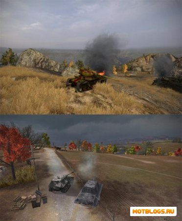 Графический мод World of Tanks
