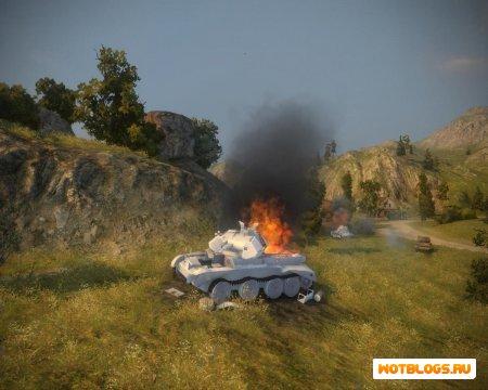 Белые трупы танков для wot 0.8.2
