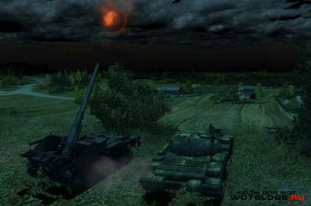 Мод смена дня и ночи для World of Tanks 0.8.3