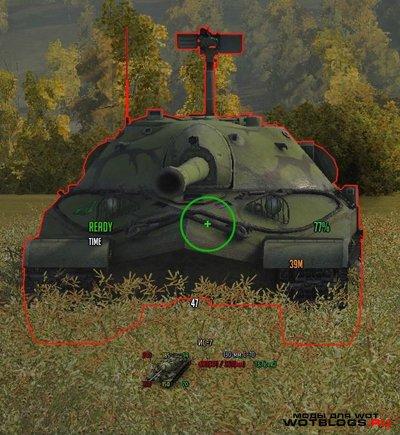 Снайперский прицел (минимальный)для версии 0.8.3