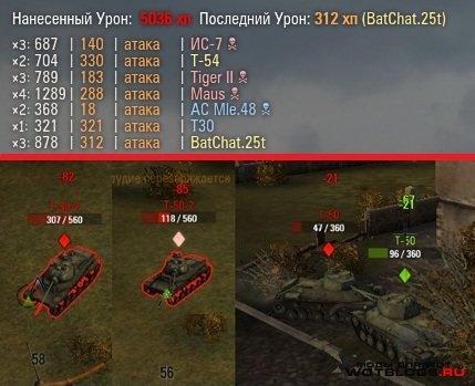 XVM-Lite(ОТМ + Счётчик нанесённого дамага в бою) для 0.8.3