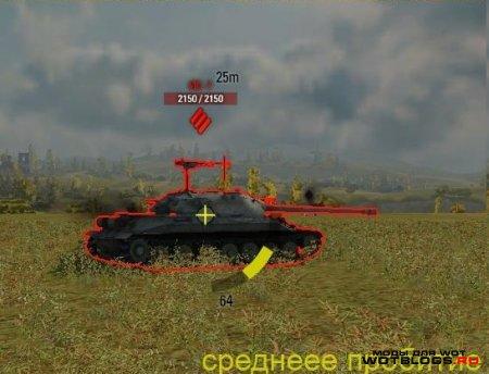 Индикатор бронепробиваемости для World of Tanks 0.8.3