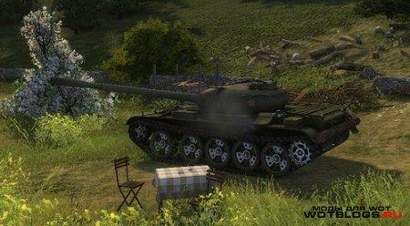 Раскрашенные катки для World of Tanks 0.8.3