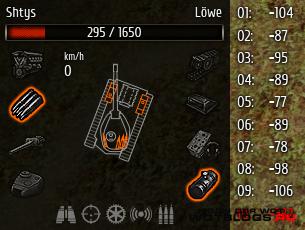 Настраиваемая панель повреждений для World of Tanks 0.8.4