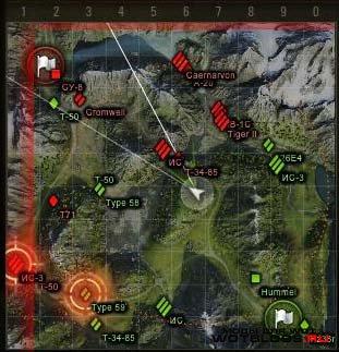Миникарта для World of Tanks 0.8.4 от locastan