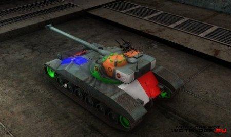 Шкурки с зонами пробития для World of Tanks|Мир Танков 0.8.5