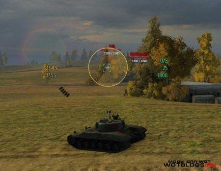 """Прицел """"Minimalistic Sights"""" для Мира танков 0.8.5"""