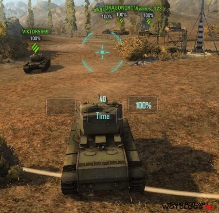 Прицел из WoWP для World of Tanks 0.8.6