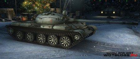 Раскрашенные катки для танков WoT 0.8.6