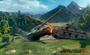 World of Tanks: захватывающие бои