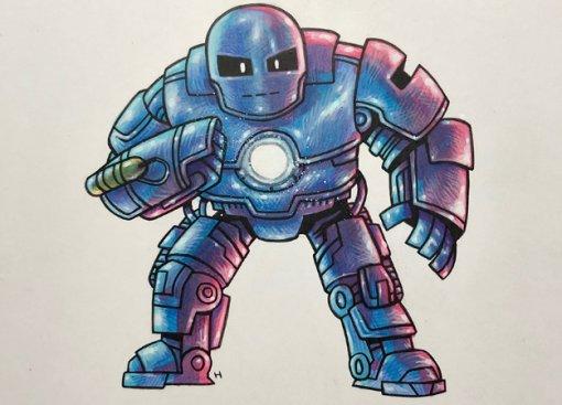 Художник Teen Titans GO! нарисовал арты вчесть выхода «Мстителей: Финал». Вспомнил все фильмыMCU!