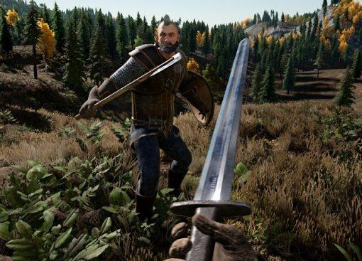 Геймплей Valhall— королевской битвы про викингов