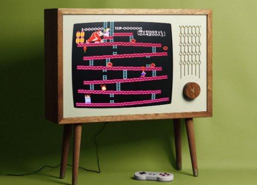 Yesterday Vision — эмулятор старых консолей в ретро-телевизоре за $2799
