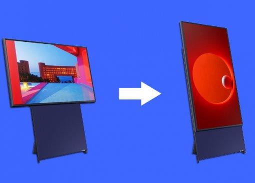 Как 43-дюймовый смартфон: телевизор Samsung Sero создан для просмотра вертикальных видео