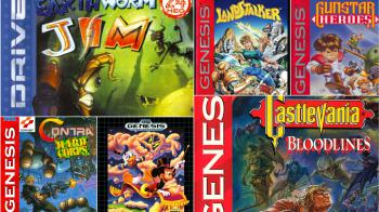 Sega раскрыла названия еще десяти игр для Mega Drive Mini