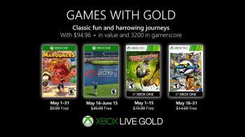 Майская подборка бесплатных игр XBOX Games with Gold