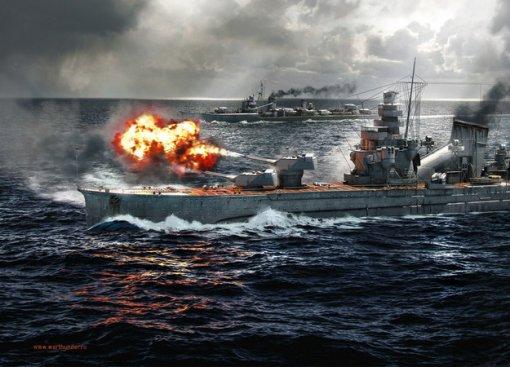 В War Thunder вышло обновление 1.89 «Императорский флот», добавившее очень много новой техники