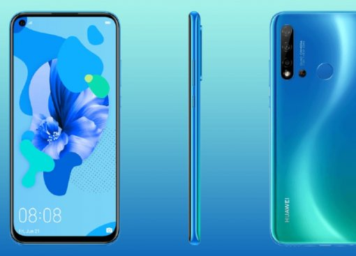 Huawei P20 Lite (2019) показался надетальных рендерах: четыре камеры и«дыра» вэкране