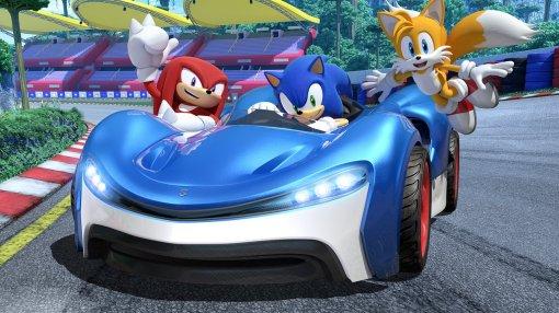 Трейлер и отзывы критиков на новую гонку про Соника – Team Sonic Racing