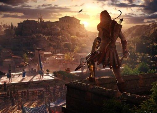 Гифка дня: кривой прыжок веры вAssassin's Creed Odyssey