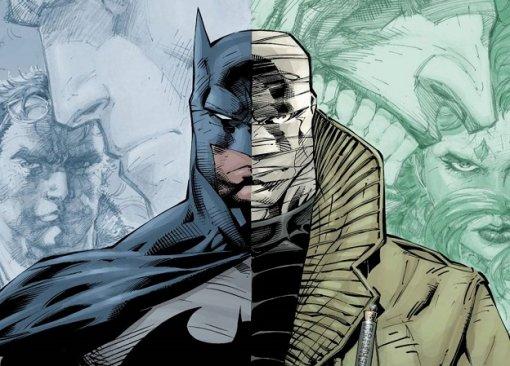 Темный рыцарь против человека без лица— это трейлер мультфильма «Бэтмен: Хаш»