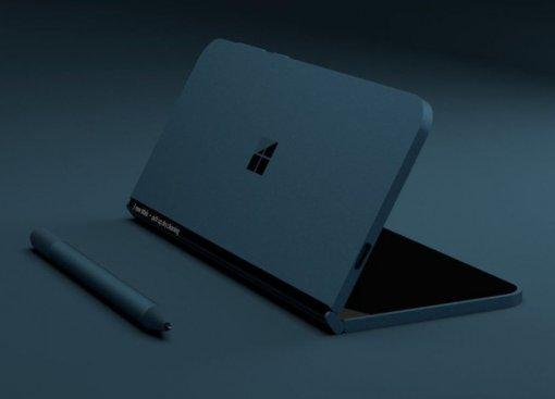 Microsoft готовит квыходу двухэкранный складной планшет Surface