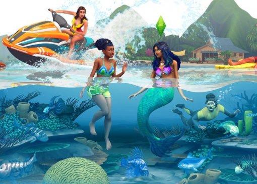 НаEAPlay для The Sims 4 анонсировали дополнение Island Living
