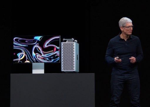 Представлен новый Mac Pro: мощнейший настольныйПК, который похож натерку