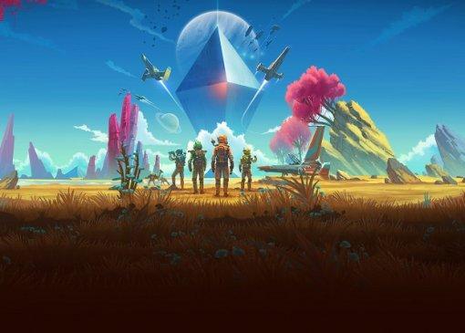 Доброта дня: фанаты NoMan's Sky выкупили билборд, чтобы поблагодарить авторов игры