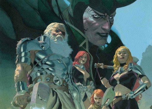 Marvel наконец анонсировала комикс про Короля Тора— бога грома вдалеком будущем, где онВсеотец
