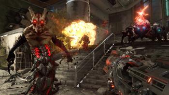 Doom Eternal's Souls-style invasions - новый режим для