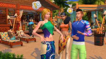 The Sims 4: Island Living -