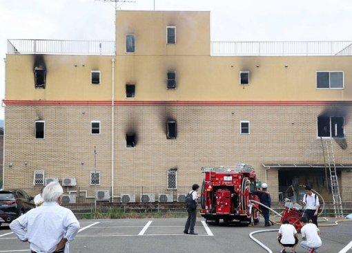 Ваниме-студии Kyoto Animation случился пожар. Есть погибшие