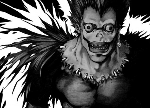 Рюк возвращается! Первый взгляд намангу-ваншот по«Тетради смерти»