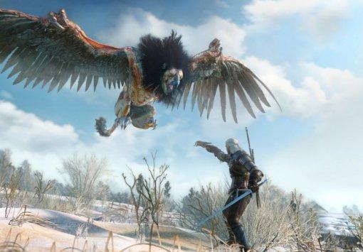 Гифка дня: какой-то неправильный монстр вThe Witcher 3: Wild Hunt