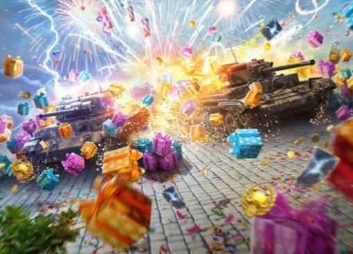 Разыгрываем 10 «юбилейных» бонус-кодов для World of Tanks Blitz