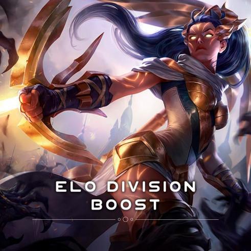 Elo Division Boost - повысить ранг