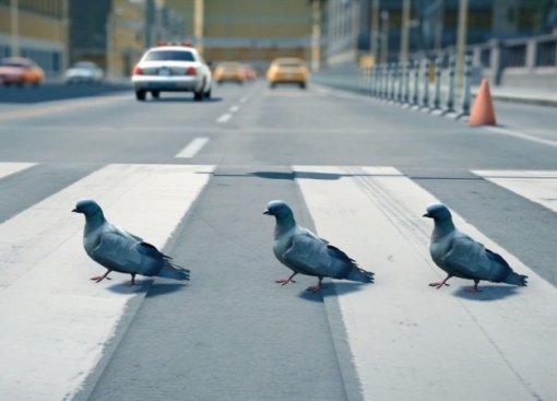 Летнее игровое затишье нарушает симулятор голубя! Название простое— Pigeon Simulator