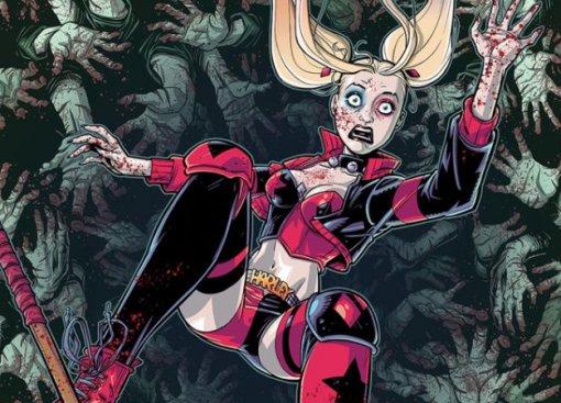 Галерея. Бэтмен, Харли Квинн идругие против зомби-супергероев наобложках комикса DCeased