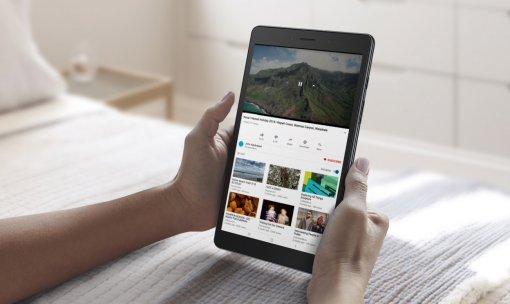 ВРоссии вышел планшет Samsung Galaxy Tab A8.0 2019: батарея на 5100 мАч и цена 11 990 рублей