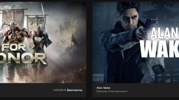 Alan Wake и For Honor бесплатно раздаются в Epic Games до 9 августа