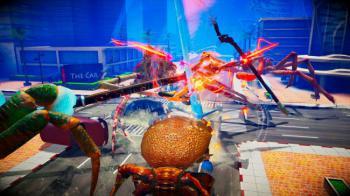 Новая файтинг игра Fight Crab