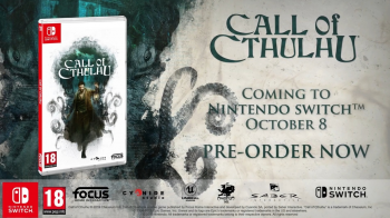 Представлен трейлер Call of Cthulhu для Nintendo Switch