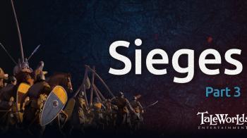 Mount & Blade II: Bannerlord. Очередной блог разработчиков. Осады. Часть 3