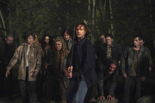 Братья Винчестеры против зомби нановых кадрах финального сезона «Сверхъестественного»