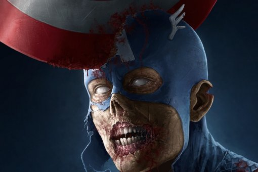 Капитан Америка становится зомби— всеть попали кадры изнового сериала Marvel