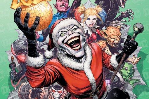 Джокер принесет немного новогоднегозла. Праздничную антологию DCпосветят злодеям