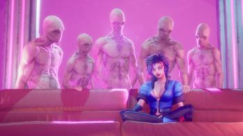 Разработчики Subverse рассказали о новой вайфу: кошкодевочке Тарон Крааск