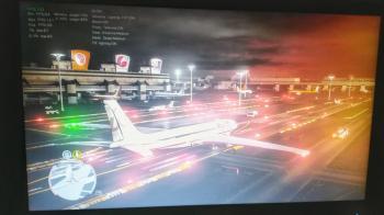 Изображение с возможным геймплеем альфа версии GTA VI